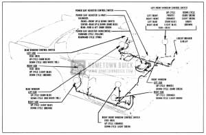 remote starter 1958 buick power window and seat wiring circuit diagram-series  40-60 on power