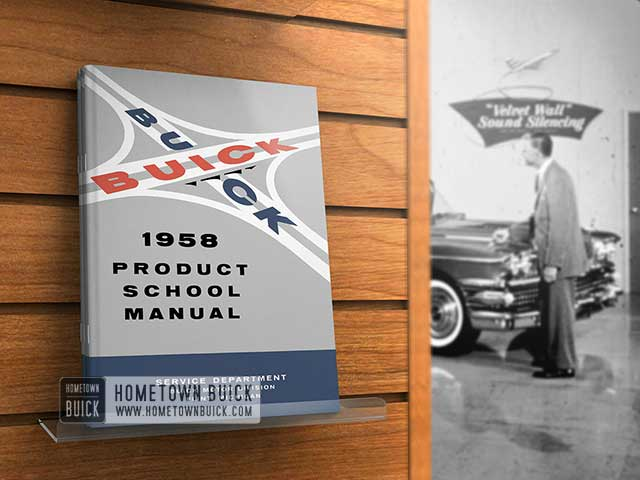 1958 Buick Product School Manual