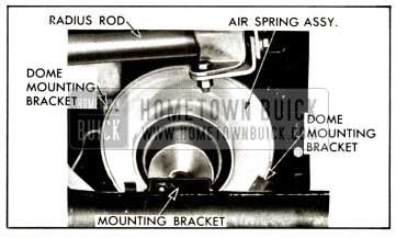 1958 Buick Rear Air Spring Mounting