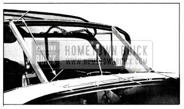 1958 Buick Rear Bow Positioning