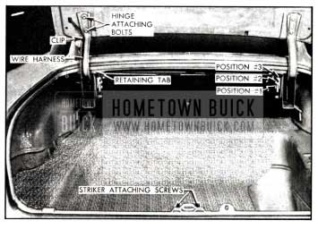1958 Buick Rear Compartment