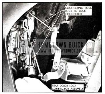 1958 Buick Rear Door Lock Removal