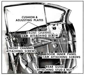1958 Buick Rear Door Window Adjustment