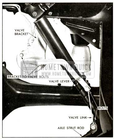 1958 Buick Rear Height Control Valve Assembly