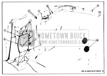 1958 Buick Rear Quarter Inner Panel Sealing Instruction-Convertibles