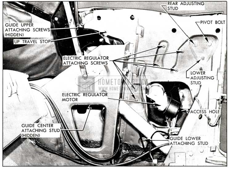 1958 Buick Rear Quarter Window Installation and Adjustment