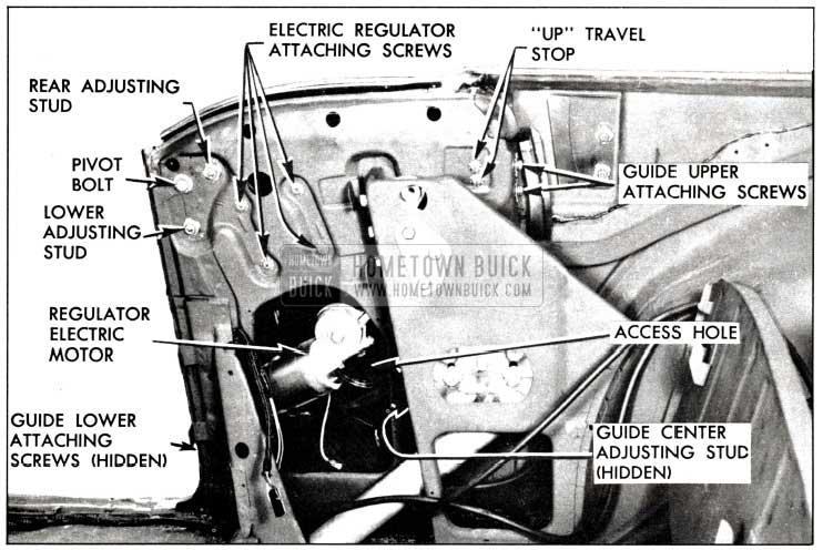 1958 Buick Rear Quarter Window Installation Procedure