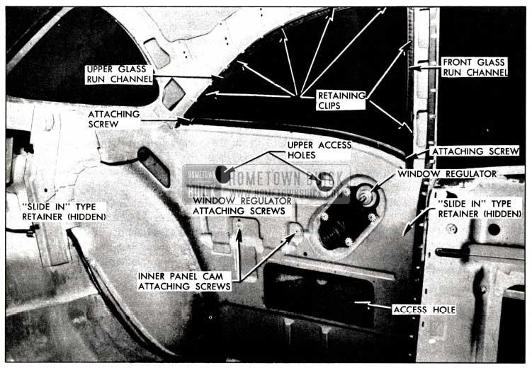 1958 Buick Rear Quarter Window Installation
