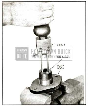 1958 Buick Removing Oil Seal
