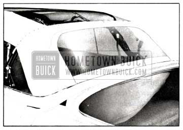 1958 Buick Tacking Convertible Back Curtain