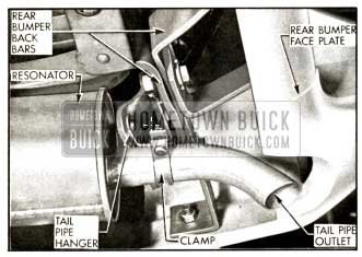 1958 Buick Tail Pipe Outlet