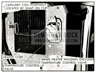 1958 Buick Temperature Control Valve