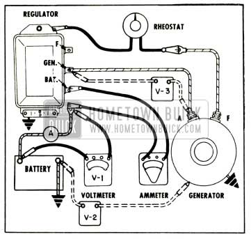 1958 Buick Testing Charging Circuit Voltage Drop