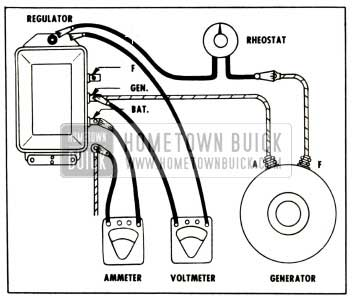 1958 Buick Testing Cutout Relay
