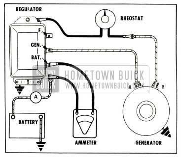 1958 Buick Testing Generator Output