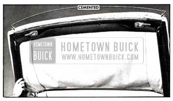 1958 Buick Trim Attachment at Front Roof Rail