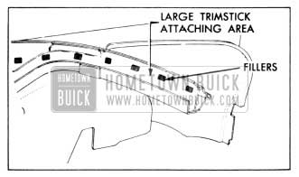 1958 Buick Trim Stick Fillers