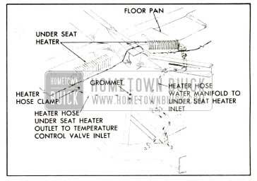 1958 Buick Under Seat Heater Installation