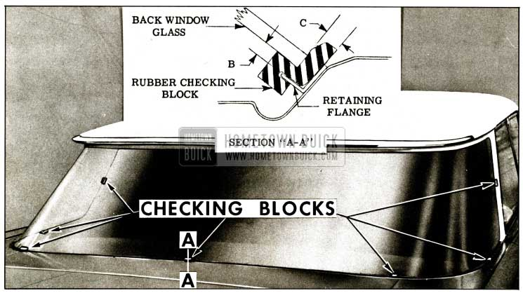 1959 Buick Back Window Opening Check