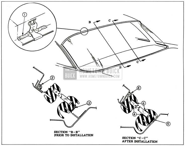 1959 Buick Back Window Sealing