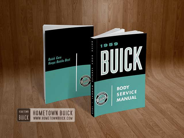 1959 Buick Body Service Manual