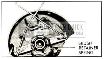 1959 Buick Brush Retainer Spring