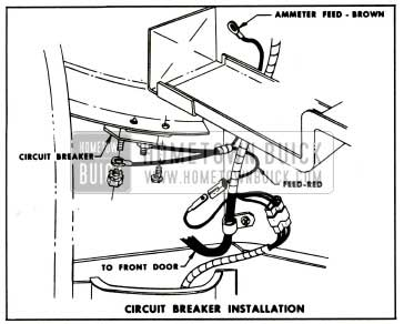 1959 Buick Circuit Breaker Installation
