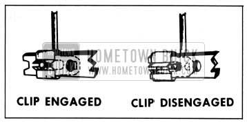 1959 Buick Door Lock Spring Clip