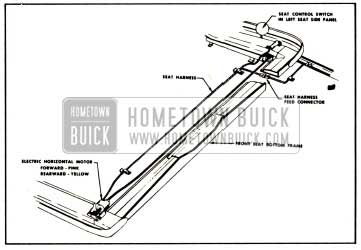 1959 Buick Electric Horizontal Seat Wiring Installation