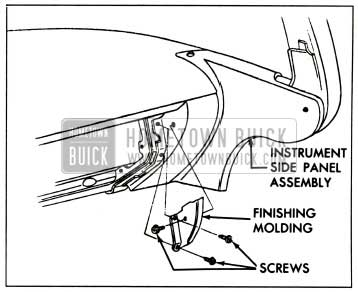 1959 Buick Finishing Moulding