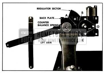 1959 Buick Front Door Window Electric Regulator