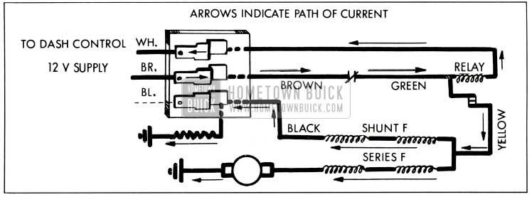 1959 Buick Hi Speed Operation-Wiring Circuit