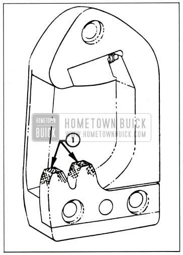 1959 Buick Lubrication of Door Lock Striker