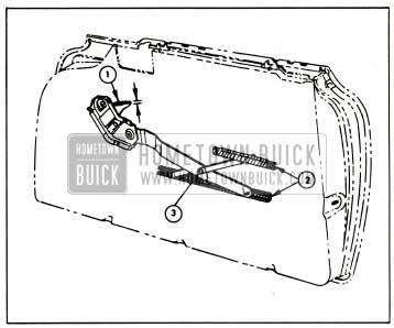 1959 Buick Lubrication of Door Window Regulator and Cams