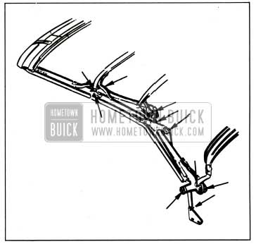1959 Buick Lubrication of Folding Top Linkage