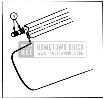 1959 Buick Lubrication of Sunshade Rod