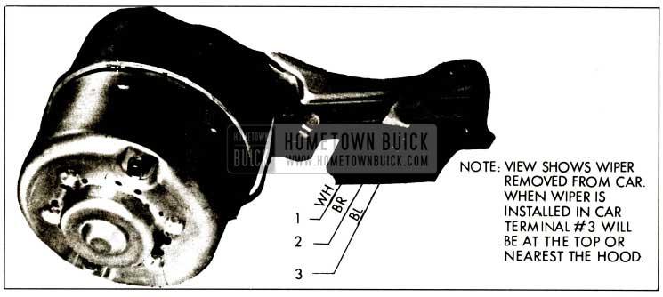 1959 Buick Motor Terminal Connector