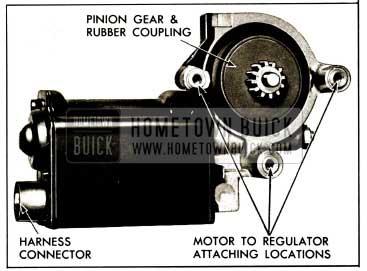 1959 Buick Power Window Motor
