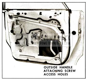 1959 Buick Rear Door Outside Handle Removal