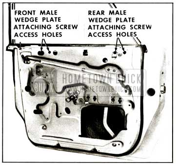 1959 Buick Rear Door Window Adjustments