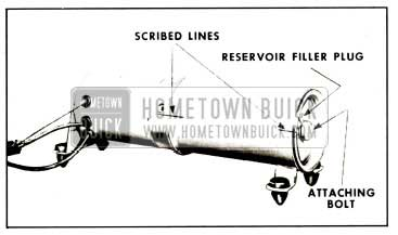 1959 Buick Reservoir Tube Disassembly From Motor and Pump