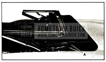 1959 Buick Tuck Padding Into Compartment