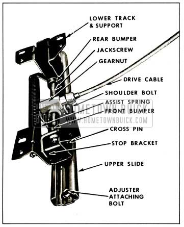 1959 Buick Two Way Seat Adjuster