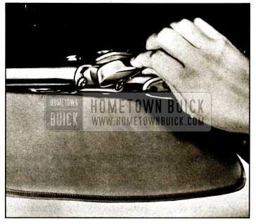 1959 Buick Unlock Top From Windshield Header