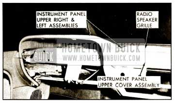 1959 Buick Upper Instrument Panel Assembly