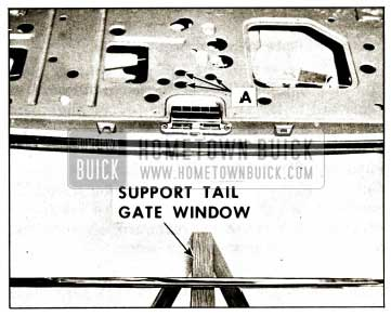 1959 Buick Window Regulator Outside Handle Removal