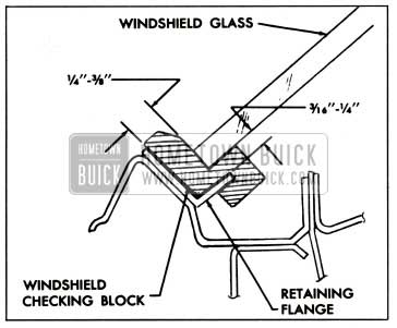 1959 Buick Windshield Opening Check