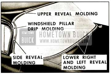 1959 Buick Windshield Reveal Molding
