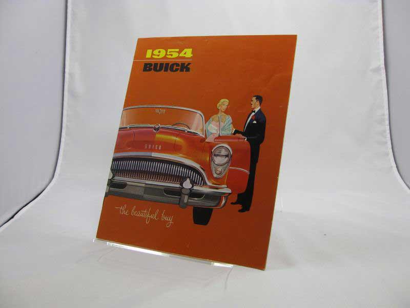 1954 Buick Sales Brochure