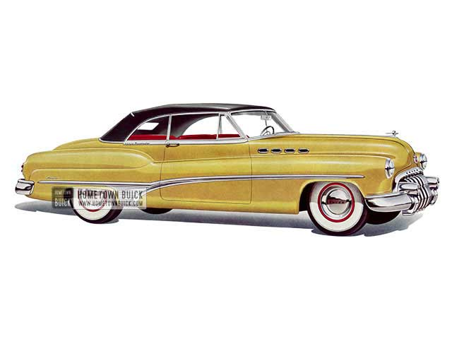 1950 Buick Roadmaster Convertible - Model 76C HB
